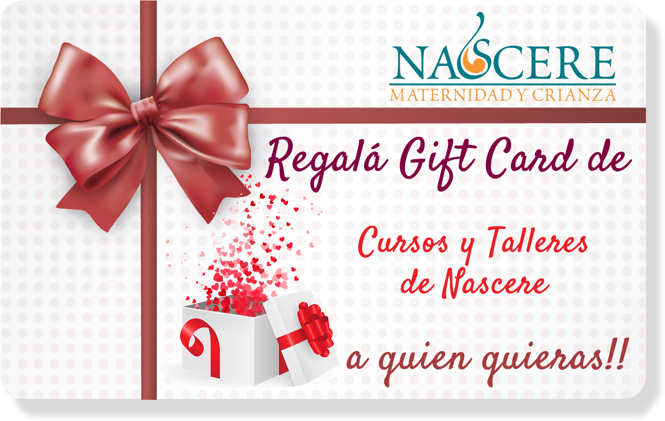 Regalá Gift Card de Nascere